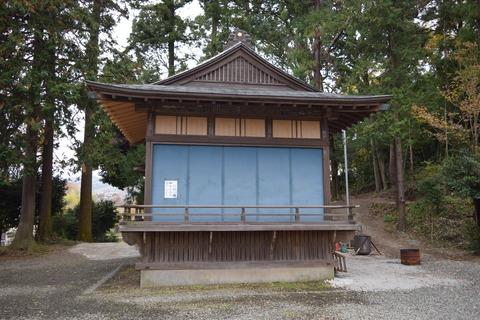 梶原八幡神社 神楽殿 ブログ用