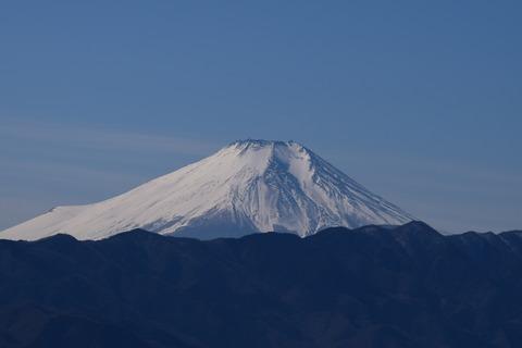 小仏峠から見える 富士山 ブログ用