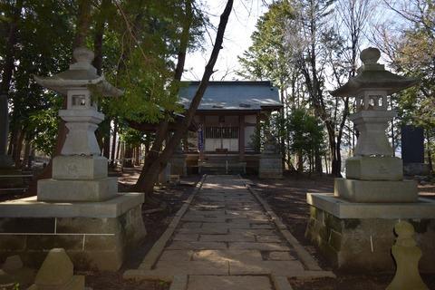 日吉神社 拝殿 ブログ用