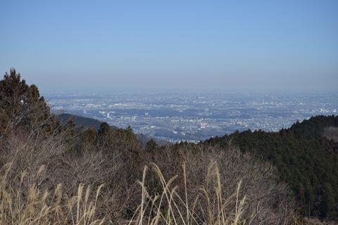 小仏城山山頂 景色 ブログ用