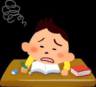 boy-studying-lazy