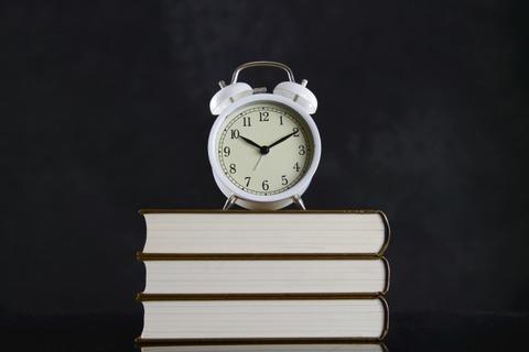 時間を気にしながら勉強する