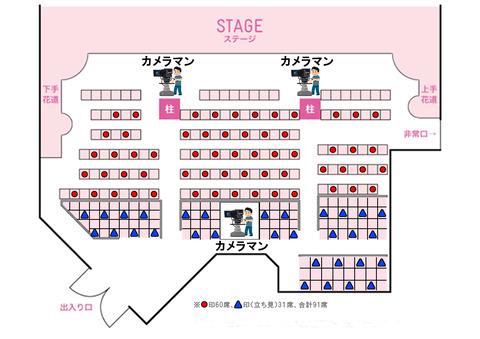【速報】 AKB48劇場 定員数増員のお知らせ