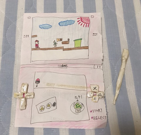 【悲報】 AKB48 山内瑞葵 「小さい時 ゲーム機を買ってもらえなかったので、紙とセロハンテープで作って遊んでた。」