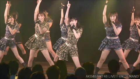 【西高東低】本日のAKB/HKT合同公演の格差をご覧ください【手つな】