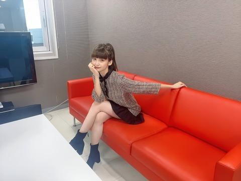 【朗報】荻野由佳ちゃんの太ももがエチエチ