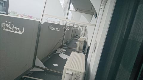 【観覧注意】台風で俺のマンションがヤバいwww【動画大量】