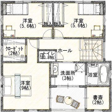 4  2階 平面図