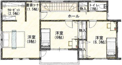 6  2階 平面図