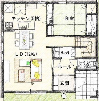 4  1階 平面図