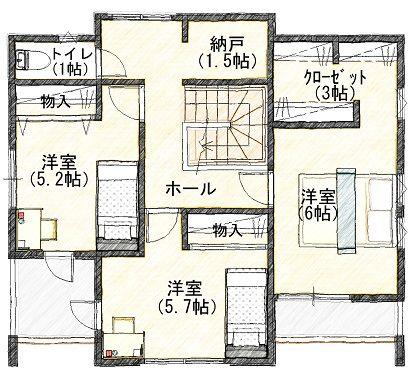 3  2階 平面図