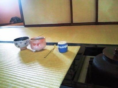 お棗、お茶杓、そして抹茶茶碗