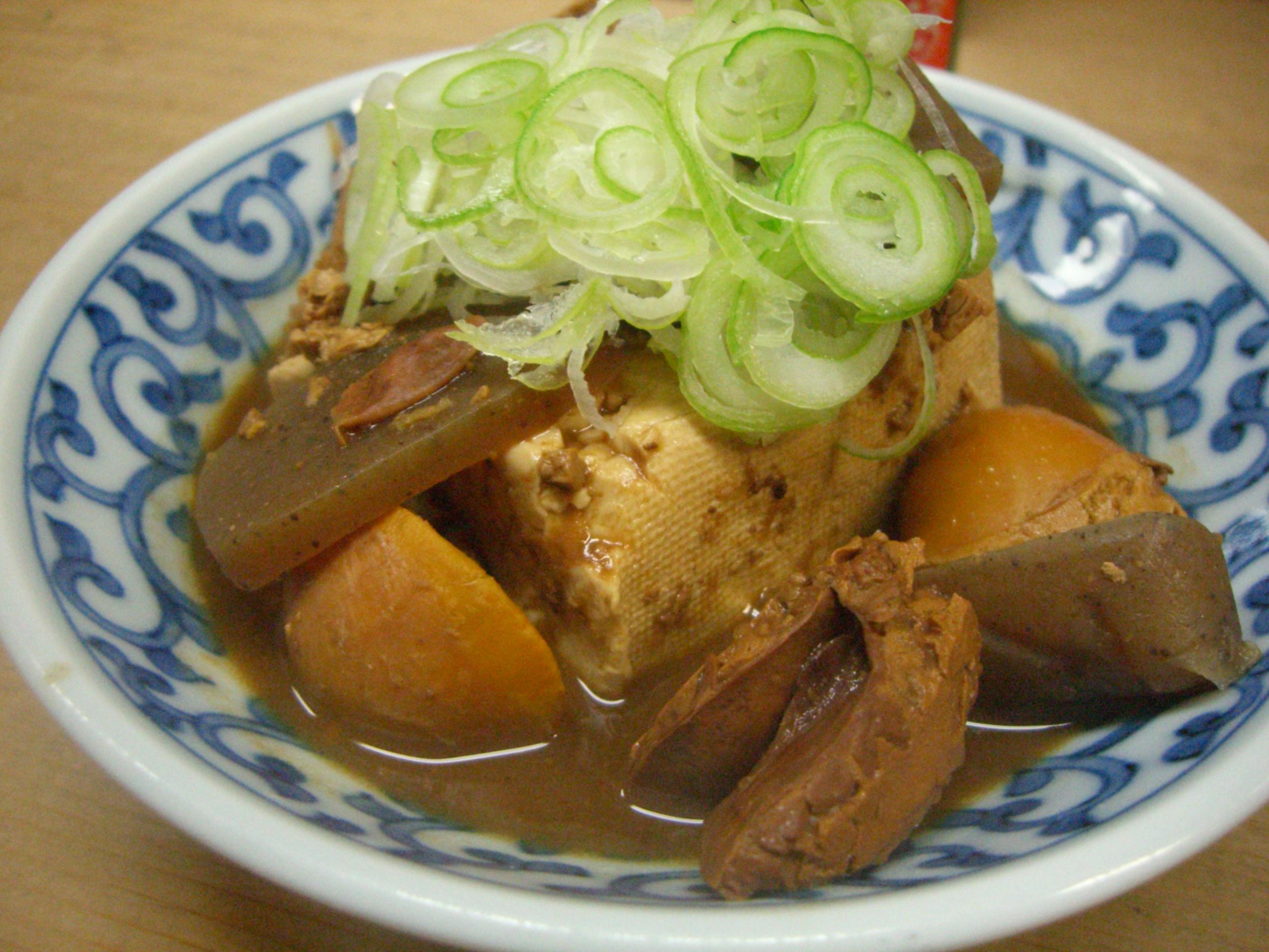 末廣酒場 煮込み豆腐