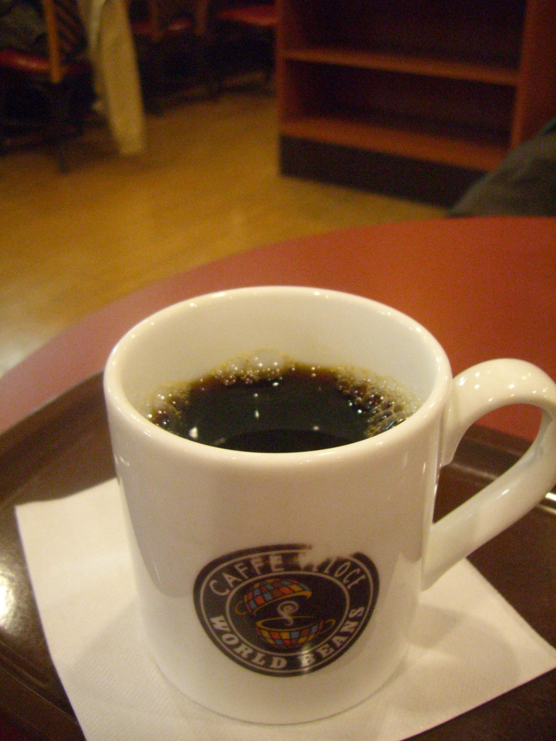 ヴェローチェのコーヒー