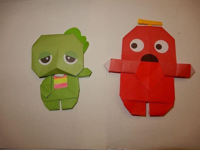 折り紙 キャラクター