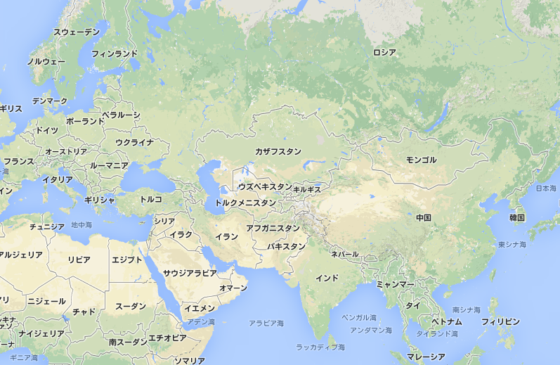 中央アジアと中国、南アジアを結...