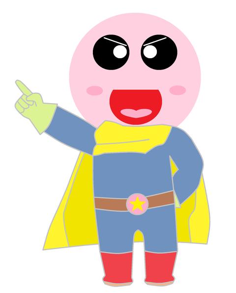 スーパーヒーロー月明天ちゃん1
