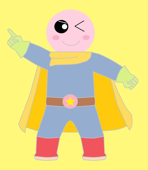 スーパーヒーロー月明天ちゃん 1