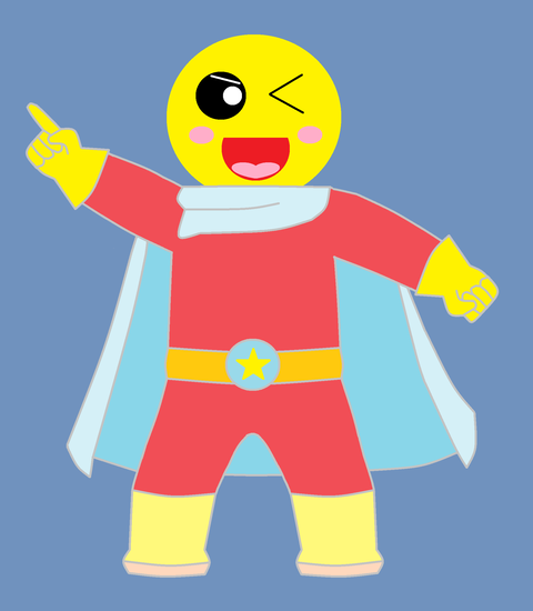スーパーヒーロー月天君 1