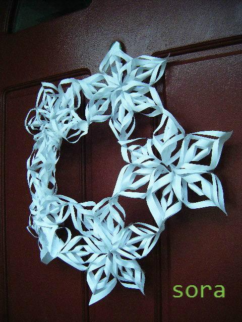 ハート 折り紙 折り紙で雪の結晶 : blog.livedoor.jp