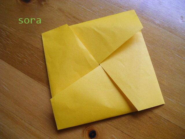 ハート 折り紙 : 折り紙 カード入れ : blog.livedoor.jp