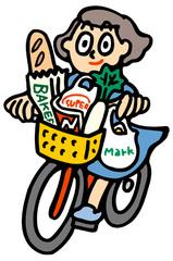 一次商圏(自転車)
