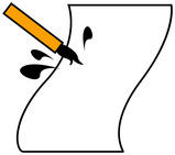 手書きチラシ2