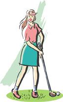 ゴルフ(女性)