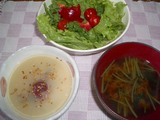 玄米スープご飯(朝の定番)1