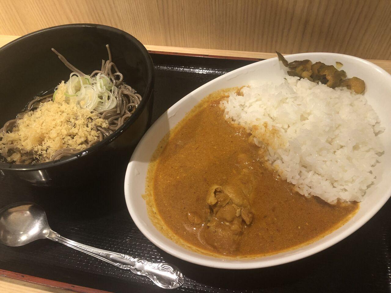 蕎麦カレー