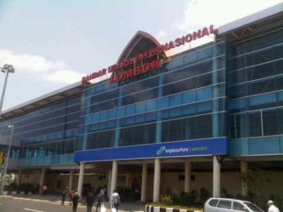 Bandaranya lombok baru ya