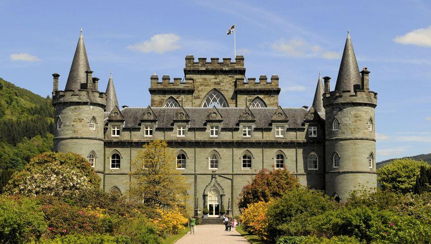 インヴァレァリー城(スコットランド) : Renaissance