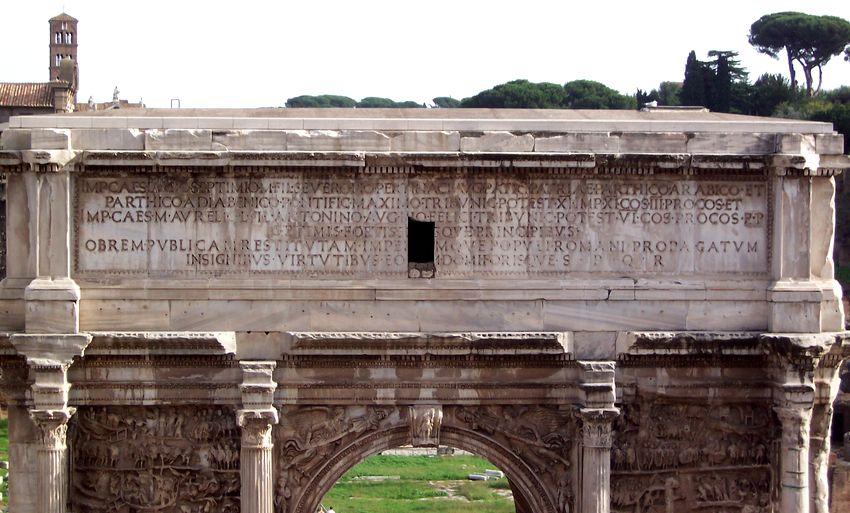 Renaissance   セプティミウス・セウェルスの凱旋門 (ローマ) コメント