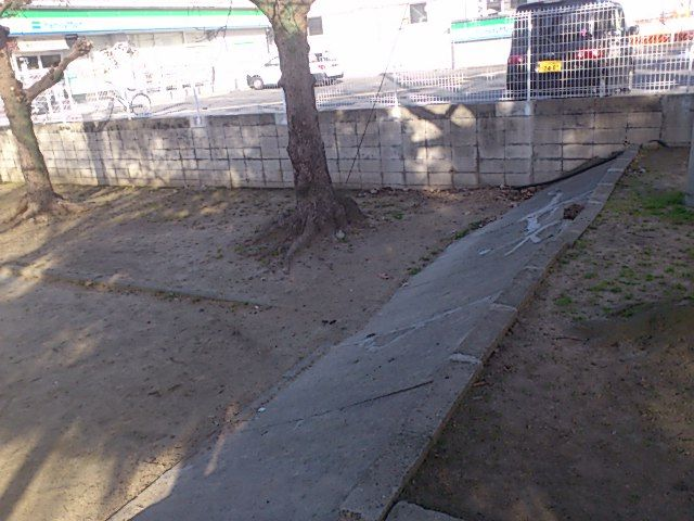 公園・犬 ノーリード 現場2
