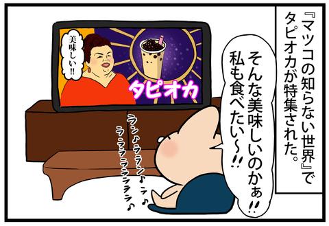 ☆新種のタピオカ開発3-1