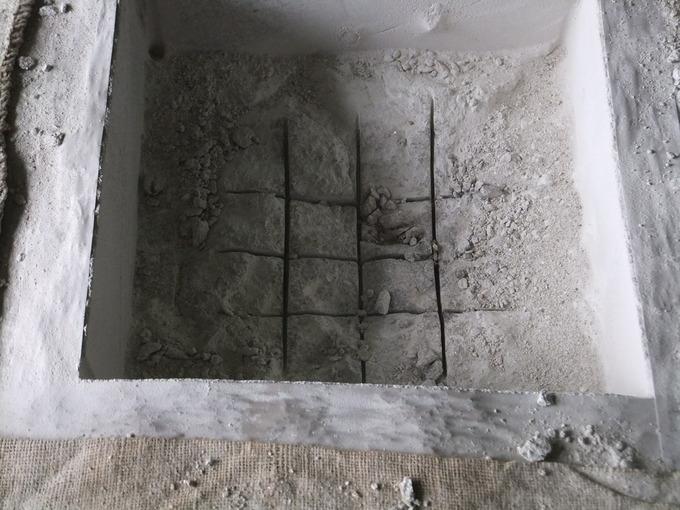 石の加工切り込み