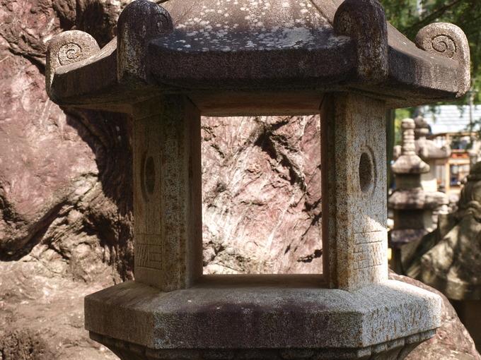 平等院石燈籠(火袋)
