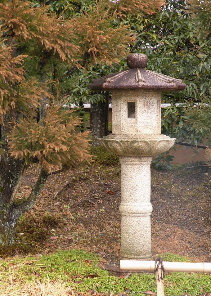日本庭園石灯篭 福島県白河市柚ノ木灯篭