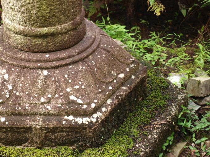 石燈籠の地輪
