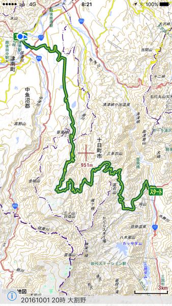 プライベートラン3(小松原林道、頸城の山旅)