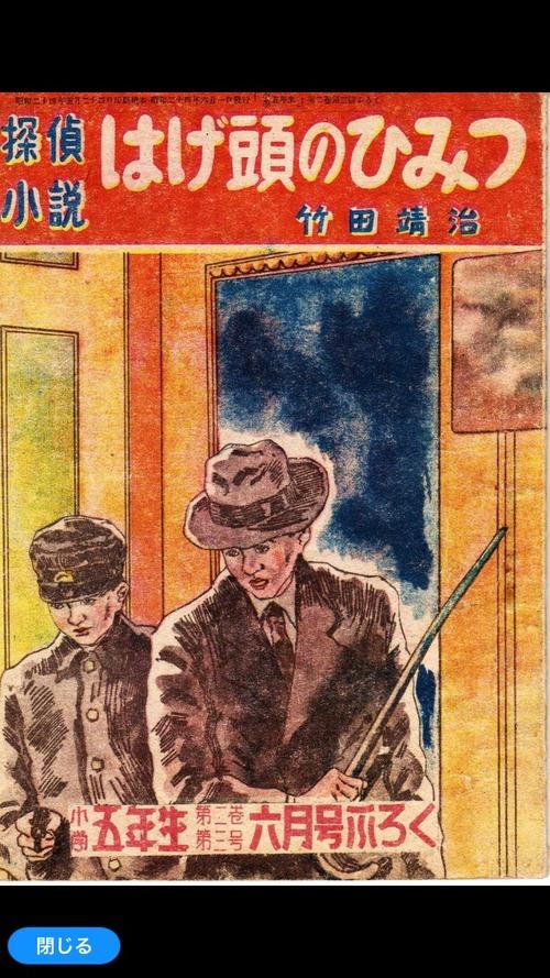 探偵小説 はげ頭の秘密