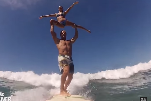 サーフィンとバレエ
