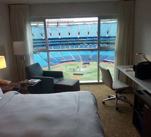 野球が観戦出来るホテル