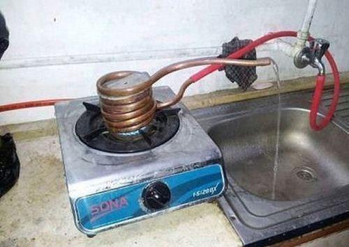 温水装置2