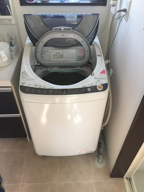 京都府京田辺市 洗濯機の排水管つまり・排水管高圧洗浄