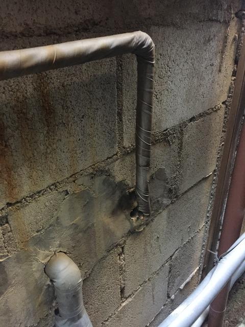 給湯管が折れた 蛇口交換DIY 京都府京都市左京区