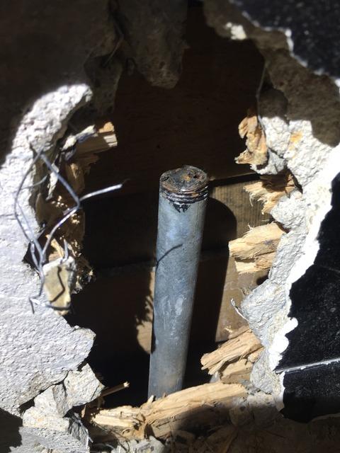 水道管(鉄管)水漏れ・トイレ工事 京都府京都市中京区