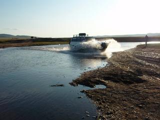 モンゴルへタイメンを釣りに 10-1