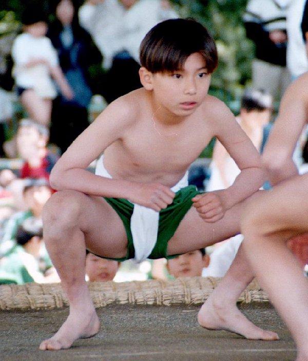 ふんどし 相撲 少年