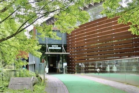 山梨県立富士湧水の里水族館 森の中の水族館-1